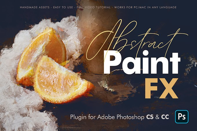 Abstract Paint FX Photoshop Plugin
