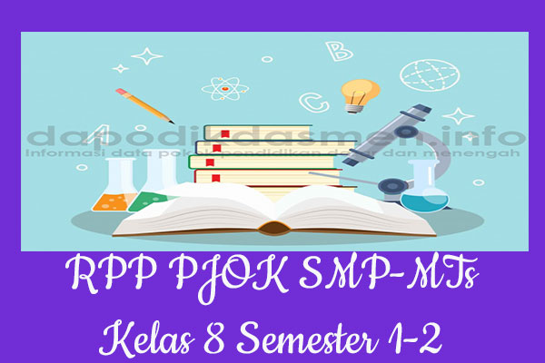RPP K13 SMP/MTs Kelas 8 PJOK Semester 1, Download RPP PJOK Kurikulum 2013 SMP Kelas 8 Revisi 2019-2020, RPP Silabus Kelas 8