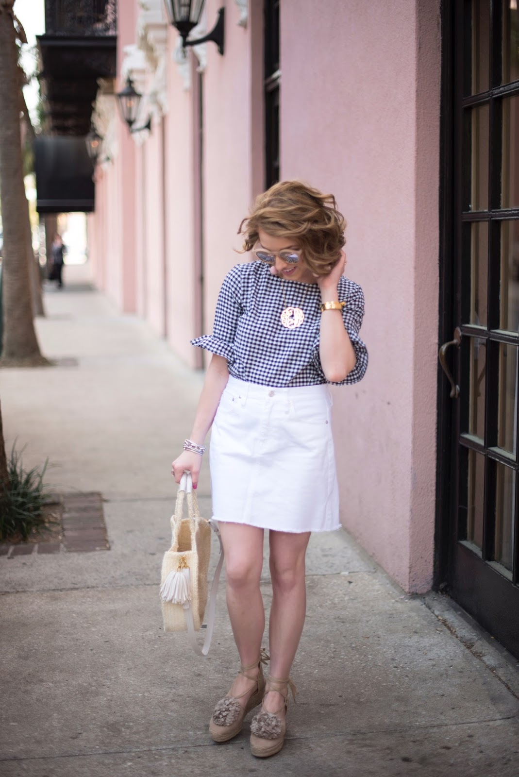 How to style gingham - Click through to see more!