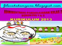 Silabus dan RPP Kurikulum 2013 kelas 2 edisi revisi 2016 SD/MI