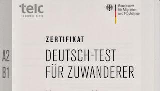 Сертификат по немецкому языку A1, A2,B1, B2. Какие задания и порядок сдачи экзамена.