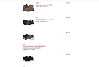 my 6pm shoe order