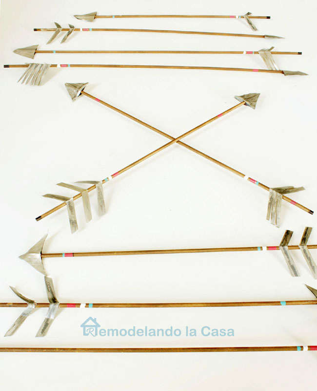a diy sheaf of arrows to decorate for any holiday.