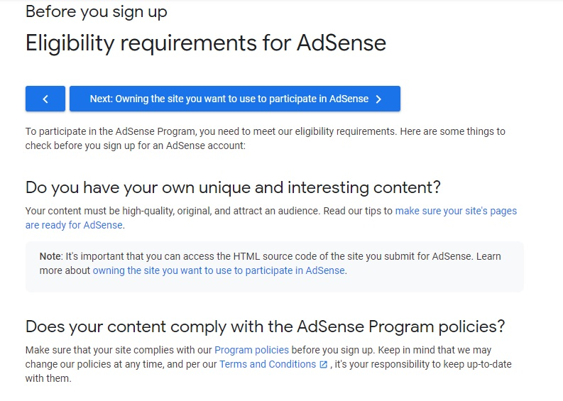 How to Apply for Adsense