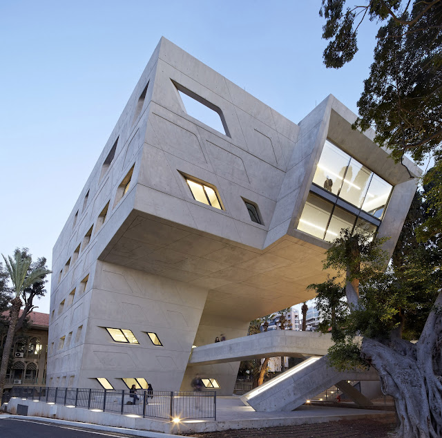 5. Issam Fares Institute for Public Policy and International Affairs at the American University of Beirut (2006–14) di Beirut, Lebanon