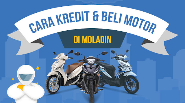 Moladin, Solusi Kredit Motor DP Murah dan Terpercaya