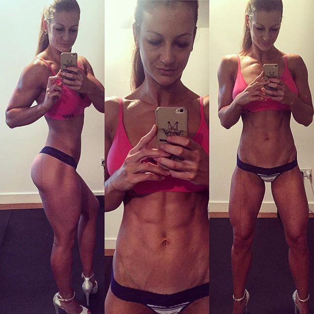 Fitness model JOHANNA HESS Instagram