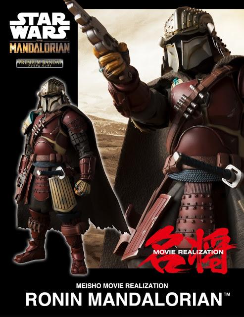 """Mei Sho Movie Realization Ronin Mandalorian de """"Star Wars"""" - Tamashii Nations"""