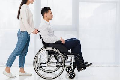 Persona con parálisis