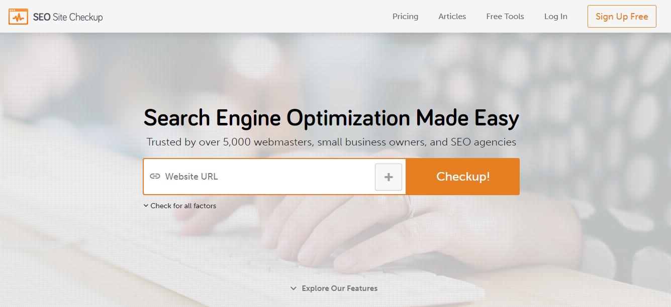 Website Test SEO Tools Checker