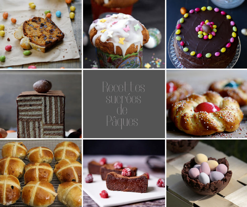 koulitch , hot cross buns , gâteaux au chocolat , dessert aux fruits