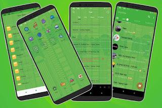Green Tema Oppo A83, F5, F7, A3S, A3 dan Realme Tembus Aplikasi
