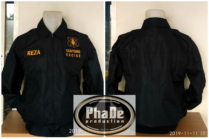 JAKET BOMBER MODEL BARU SECURITY BEACUKAI JATENG