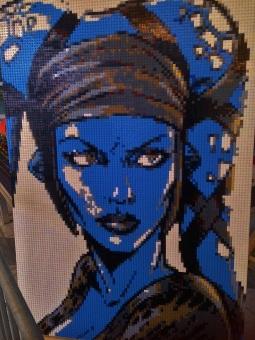 kék bőrű twilek lány
