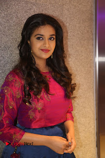 Actress Keerthi Suresh Stills at Remo Success Meet  0073.JPG