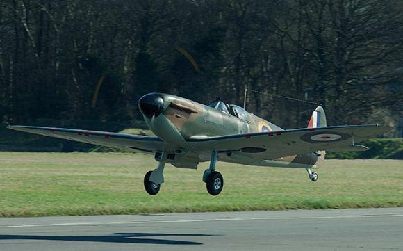 Supermarine Spitfire menjadi tulang punggung RAF