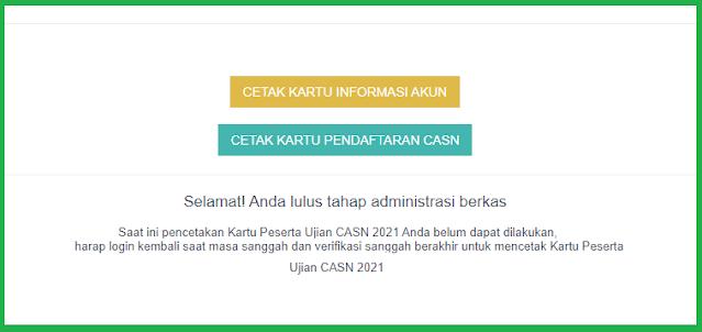 Selamat Anda Lulus Tahap Administrasi Berkas