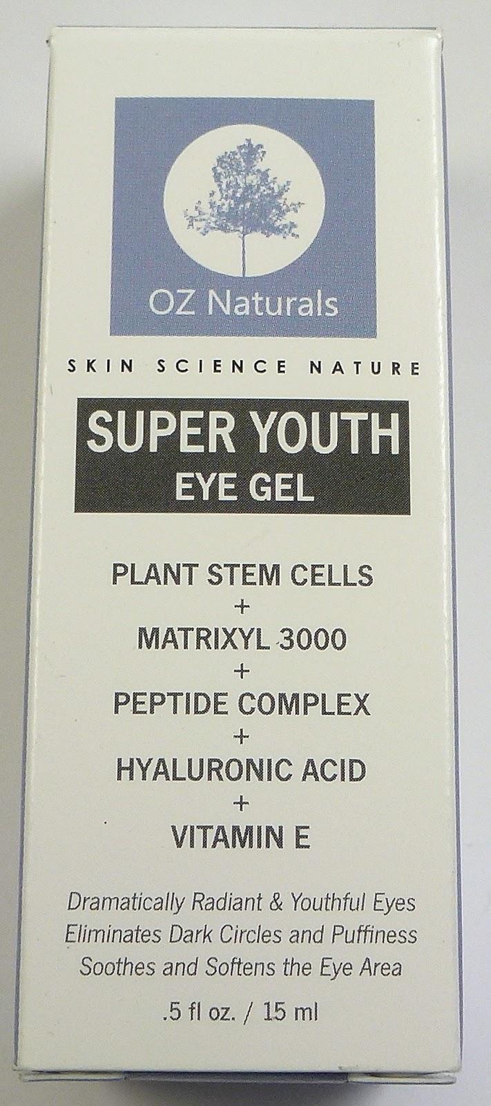 super youth eye gel