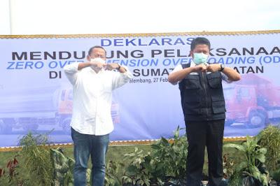 Dirjen Perhubungan Darat Kementerian Perhubungan RI, Puji Jalan di Sumsel Mulus