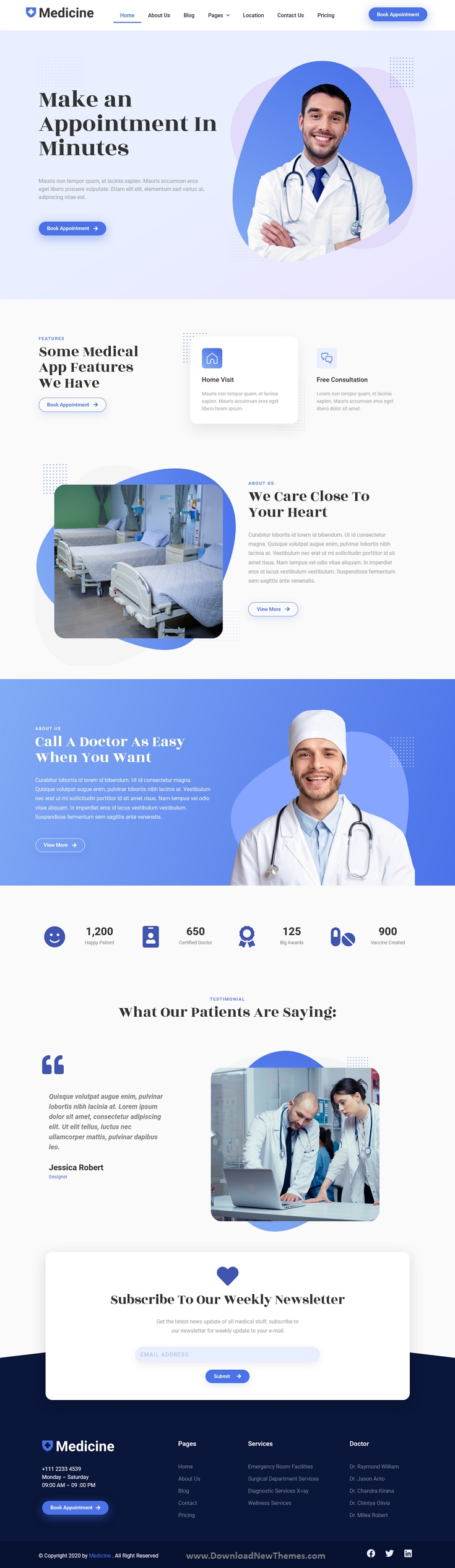 Medical Elementor Template Kit