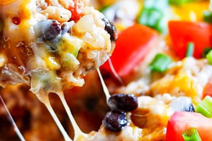 Instant Pot Chicken Burrito Bowl Recipe