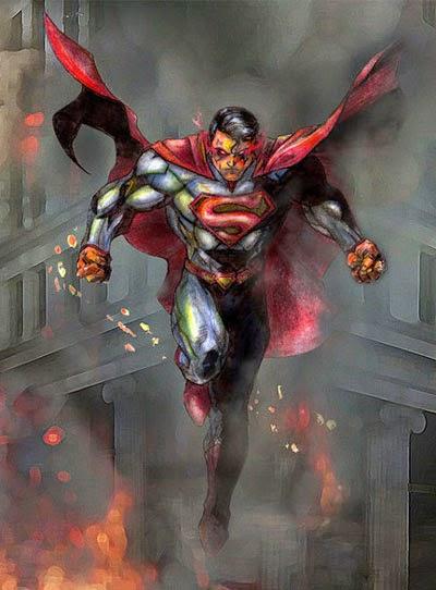 Mau Tahu Rasanya Dipukul Superman