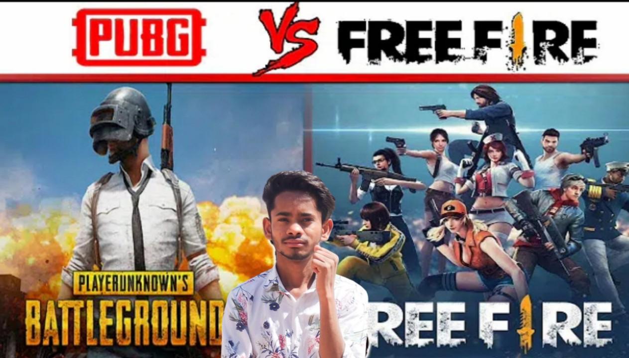 PUBG और FREE FIRE GAME की तुलना करते हैं इन दोनों में BAST कौन सा GAME है