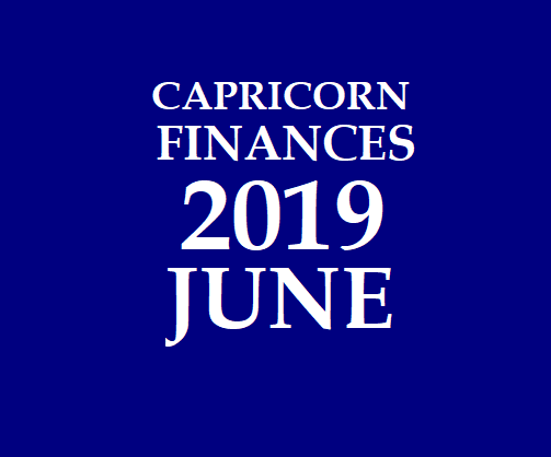 CAPRICORN - MAKARA RASI: June