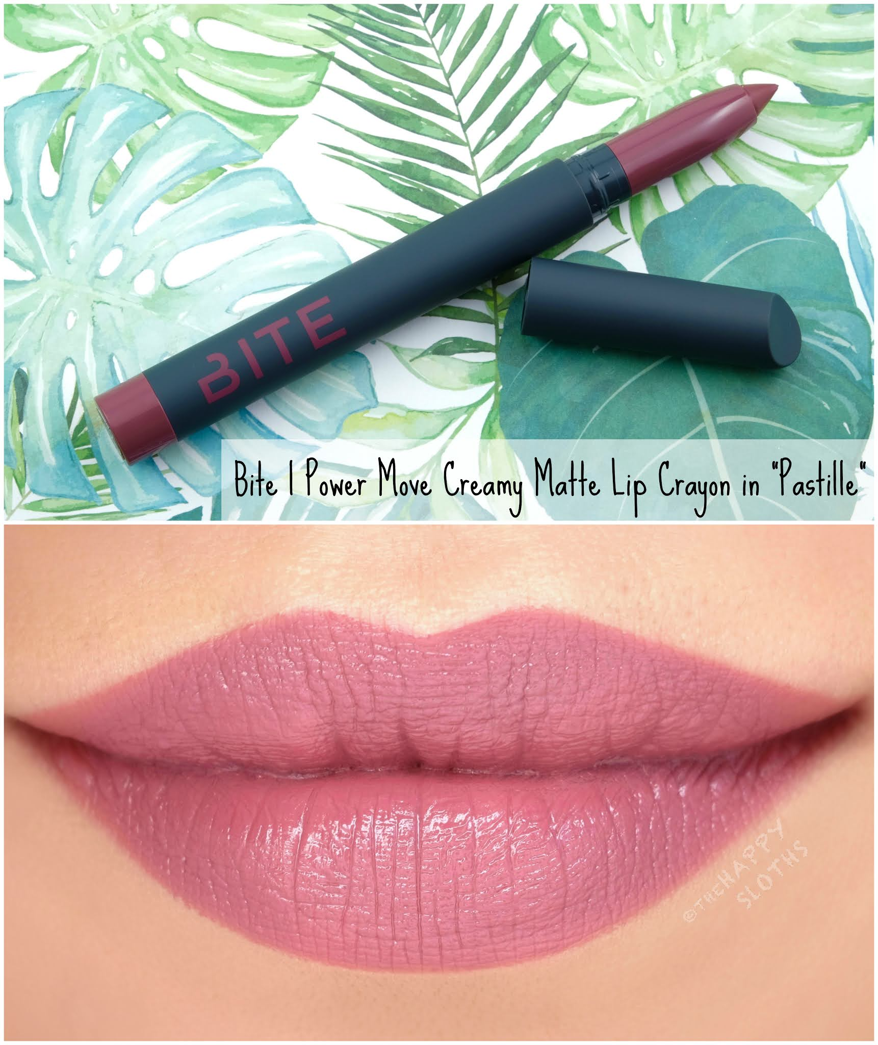 Bite Beauty | Power Move Creamy Matte Lip Crayon: Review and Swatches