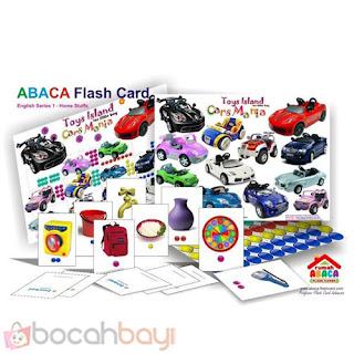 Abaca english, Abaca bahasa Inggris, Abaca Flashcard