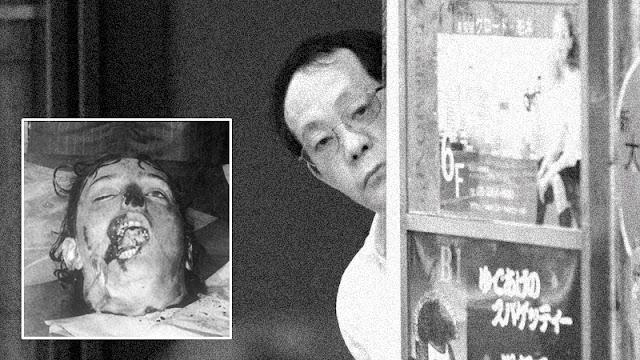 Issei Sagawa, artista, canibal e necrófilo.