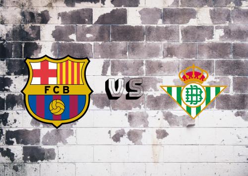 Barcelona vs Real Betis  Resumen y Partido Completo