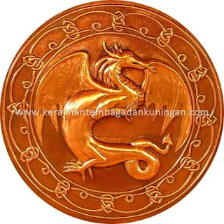 Jual / Pesan Logo Tembaga - Kerajinan Tembaga dan Kuningan