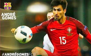 Barcelona Resmi Rekrut Andre Gomes Dari Valencia