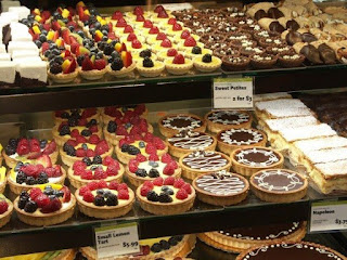 image of dessert case