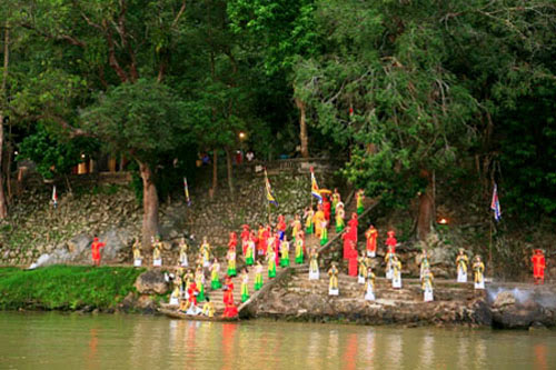 And quiet flows the Huong River 9