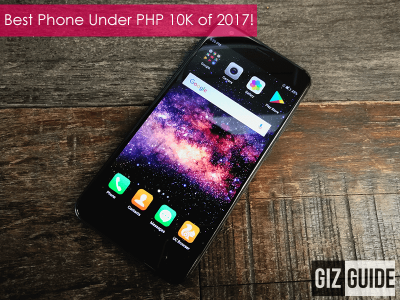 Editor's Choice: Best Smartphone Under PHP 10K of 2017 - Cloudfone Excite Prime 2 Pro!