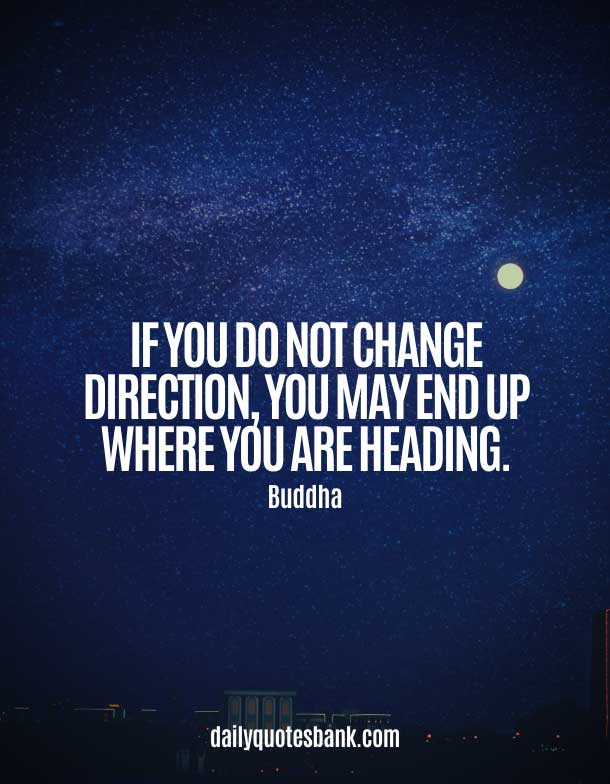 Buddha Quotes About Changing Yourself
