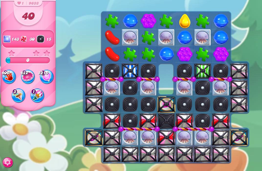 Candy Crush Saga level 9633