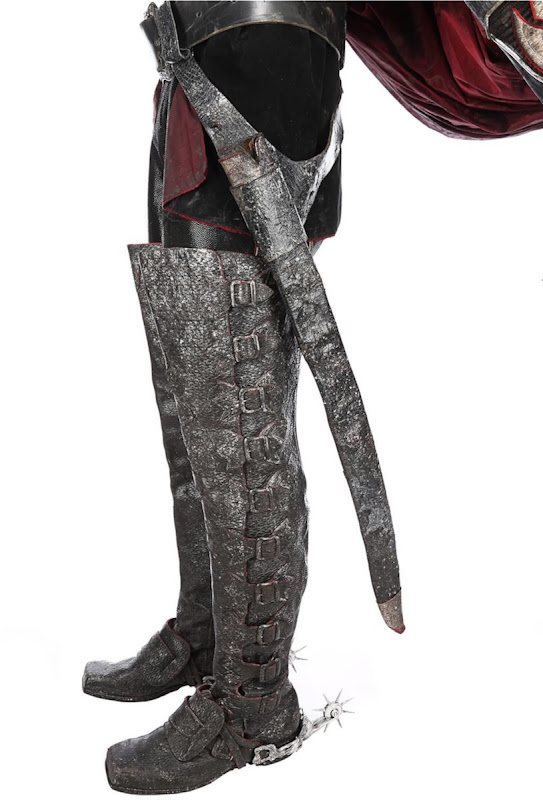 Sleepy Hollow Headless Horseman costume boots