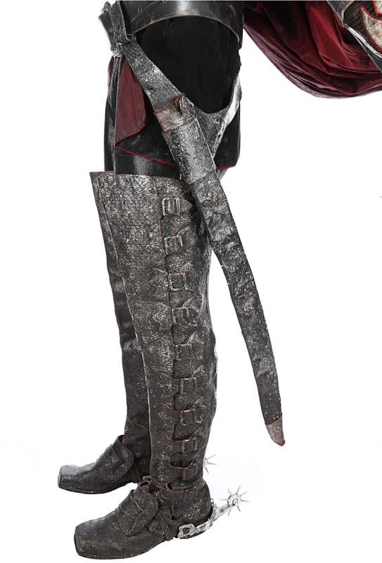 Sleepy Hollow Headless Horseman costume boots