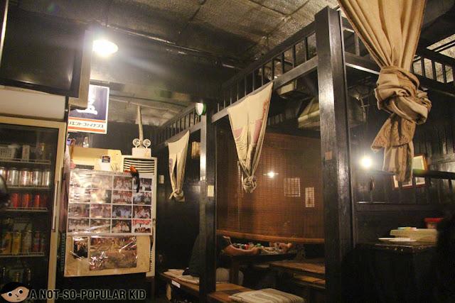 Interior of Urameshi-Ya in Little Tokyo