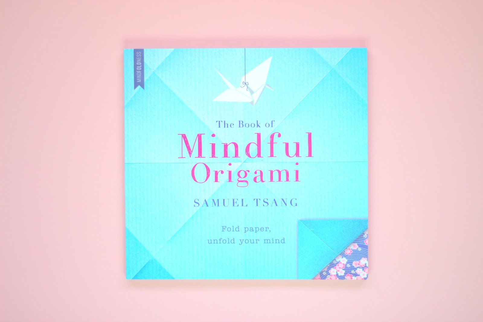 calm, destress, origami book, wellness