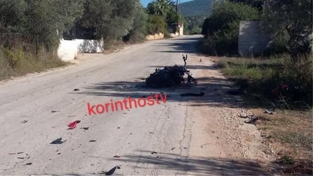 Τραγωδία στην επαρχιακή οδό Ισθμού – Επιδαύρου: Νεαρός μοτοσικλετιστής έχασε τη ζωή του