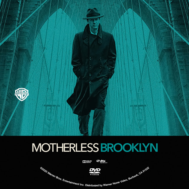 Motherless Brooklyn DVD Label