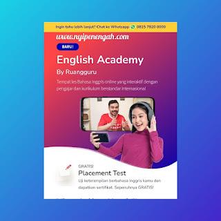 biaya english academy ruangguru biaya english academy english academy ruangguru english academy gratis harga english academy