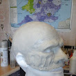 Sculpted head ...Not Pretty .... For a Slipknot fan