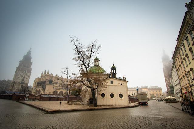 Chiesa di Sant'Adalberto-Rynek Glowny-Cracovia