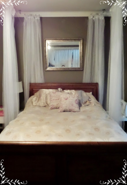 Meg Made Creations Bed Curtains Diy Turn Your Bed Into