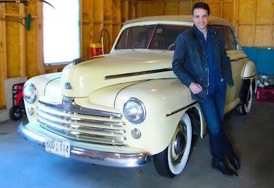 Phyllis Fierro's husband Ralph classic car